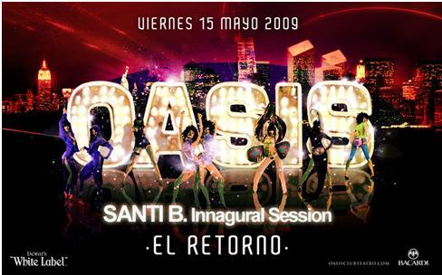 Retorno de la Sala Oasis de Zaragoza
